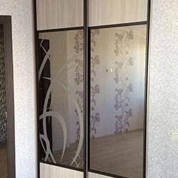 Встроенный шкаф-купе № 0917