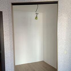 Встроенный шкаф-купе № 0918